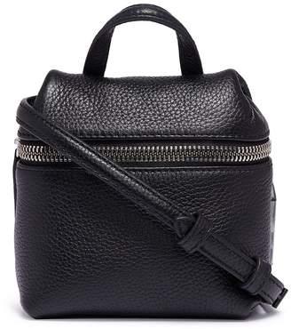 Kara Pebbled leather micro satchel