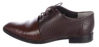 Alexander Wang Leather Round-Toe Oxfords