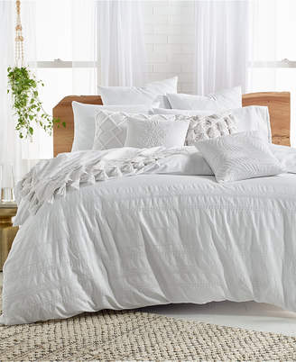 Lucky Brand Stripe Embroidered 2-Pc. Twin Comforter Set