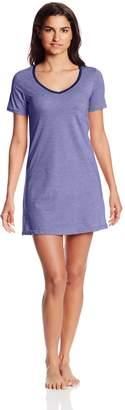 Bottoms Out Women's Short Sleeve V-Neck Nightie