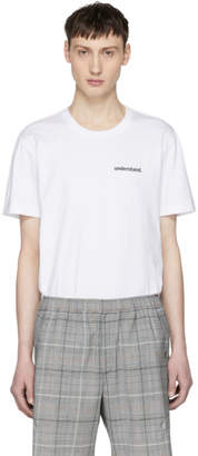 Tim Coppens White Understand T-Shirt