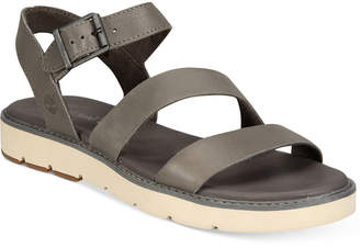Timberland Women's Bailey Park Flat Sandals Women's Shoes