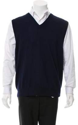 Peter Millar Wool Woven Sweater Vest