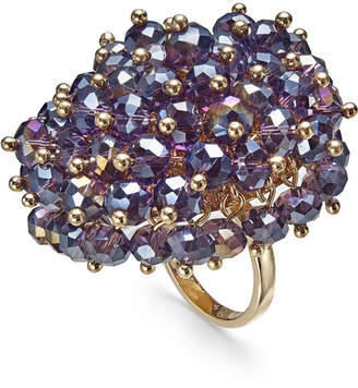 INC International Concepts I.N.C. Gold-Tone Shaky Bead Statement Ring, Created for Macy's