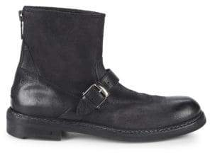 John Varvatos Ellis Back Zip Moto Ankle Boots