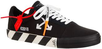 Off-White Off White Canvas Low Top Sneakers
