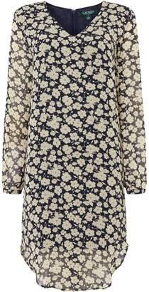 Lauren Ralph Lauren Zakery lonh sleeve casual dress