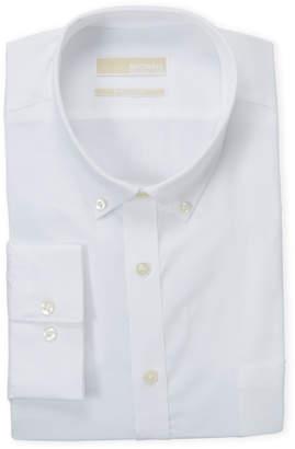 MICHAEL Michael Kors White Regular Fit Dress Shirt
