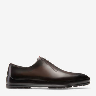 Bally Redison Brown, Men's calf leather oxford shoe in brown