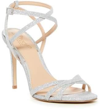 Badgley Mischka Ambre Wraparound Ankle Strap Sandal