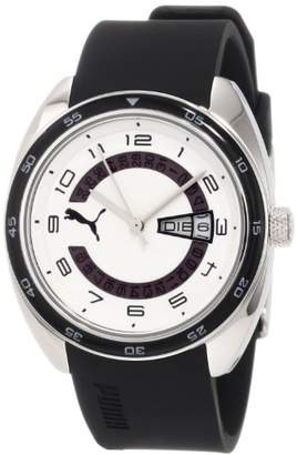 Puma Time Women's Quartz Watch Course S Black PU102522005 with Rubber Strap
