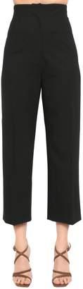 Jacquemus High Waist Cool Wool Blend Pants