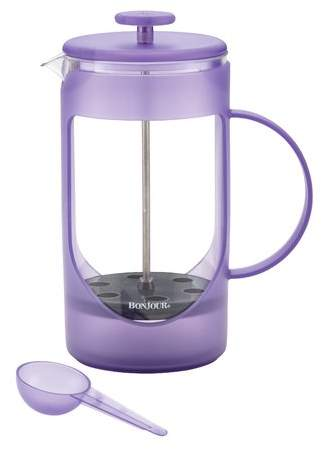 BonJour 8 Cup Ami-Matin Unbreakable French Press Coffee Maker