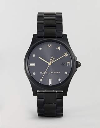 Marc Jacobs MJ3601 Henry Bracelet Watch in Black 36mm