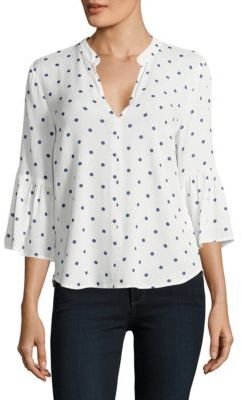 Splendid Polka-Dotted Top $138 thestylecure.com