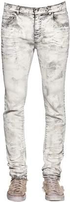 Faith Connexion 17cm Slim Fit Painted Denim Jeans