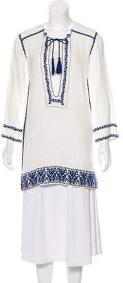 Etoile Isabel Marant Embroidered Tunic Top w/ Tags