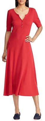 Lauren Ralph Lauren Knit Fit-and-Flare Dress