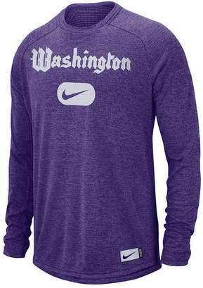 Nike Men's Washington Huskies Stadium Long Sleeve T-Shirt