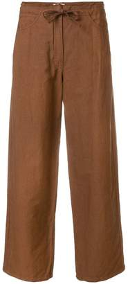 Hache cropped tailored trousers