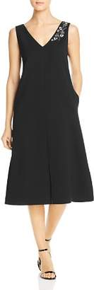 Lafayette 148 New York Dante Embellished Midi Dress