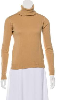 Joseph Silk & Wool Blend Knit Turtleneck