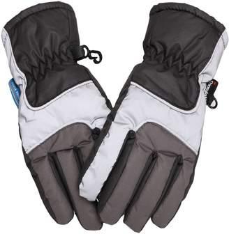Simplicity Kids 3M Thinsulate Waterproof Winter Ski Snow Gloves Unisex L