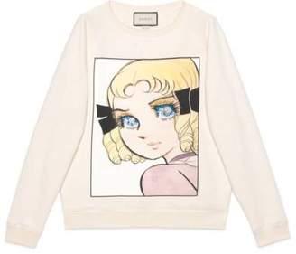 Gucci Cotton sweatshirt with manga print