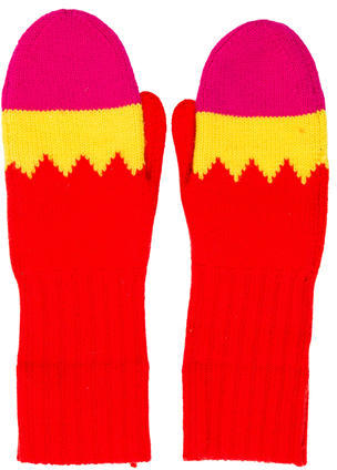 Kate Spade Kate Spade New York Knit Pow Mittens