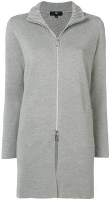 Fay zipped cardi-coat