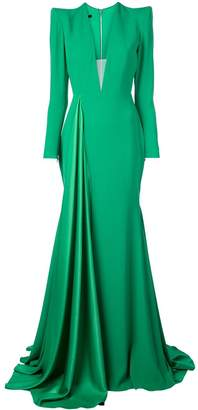 Alex Perry long Lindy dress