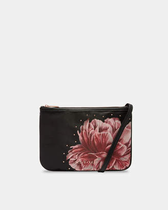 Ted Baker IKER Tranquility double pouch cross body bag