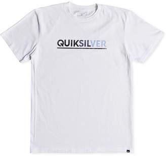 Quiksilver Men Opposite Attract Logo Graphic T-Shirt