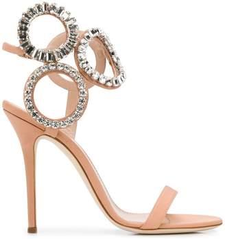 Giuseppe Zanotti Design Kassie Crystal sandals