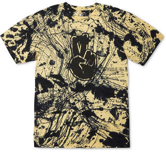 Neff Men Batik-Dyed Logo Graphic T-Shirt