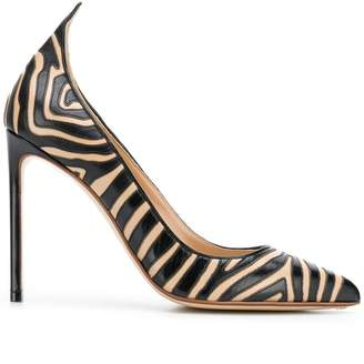 Francesco Russo zebra pumps