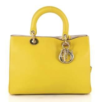 Christian Dior Addict leather clutch bag