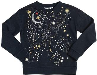 Molo Constellations Cotton & Lurex Sweatshirt