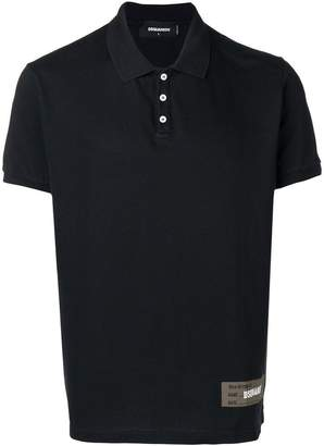 DSQUARED2 piqué polo shirt