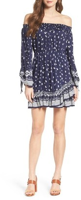 Women's Bardot Lopez Blouson Dress $109 thestylecure.com
