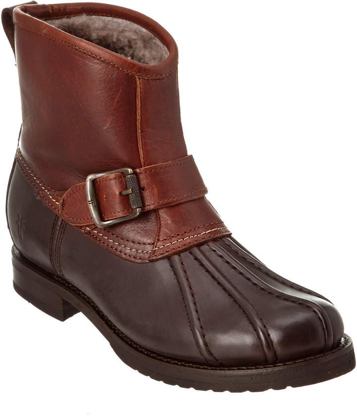 Frye Women's Veronica Engineer Leather Duck Boot