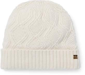 91b9c6acf80 Cable Knit Hat Pattern - ShopStyle
