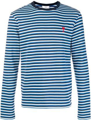 Ami Paris De Coeur Long Sleeved T-Shirt