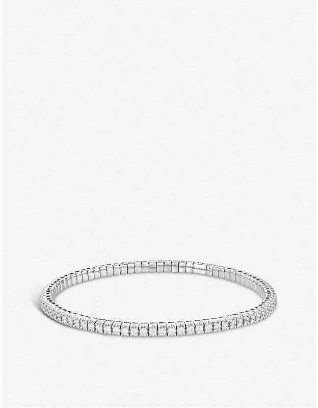 BUCHERER JEWELLERY Classics 18ct white-gold diamond bracelet