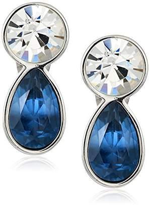 T Tahari Uptown Jewels Women's Btir Mnt Ombre Clip-On Earrings