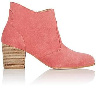 Esquivel Women's Jill Suede Ankle Boots - Pink