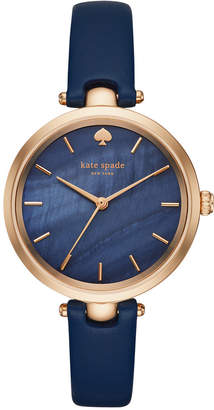 Kate Spade Women Holland Leather Strap Watch, 34mm