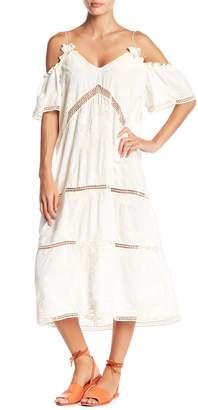 Raga Gracey Cold Shoulder Crochet Lace Dress