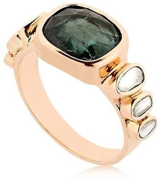 Celine Daoust Tourmaline Rose Gold Ring