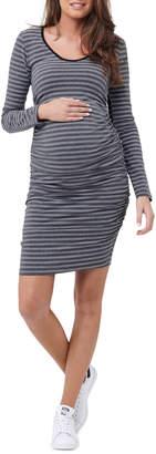 Striped Cocoon Dress